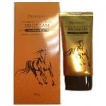 Фото Deoproce Horse Oil Hyalurone Bb Cream - Крем ББ с гиалуроновой кислотой и лошадиным жиром тон 23, 60 гр