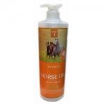 Фото Deoproce Horse Oil Hyalurone Shampoo - Шампунь с гиалуроновой кислотой и лошадиным жиром, 1000 мл
