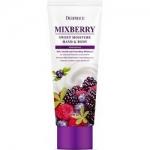 Фото Deoproce Mixberry Sweet Moisture Hand and Body - Крем для рук и тела питательный Лесные ягоды, 100 мл