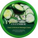 Фото Deoproce Natural Skin Cucumber Nourishing Cream - Крем для лица и тела на основе экстракта огурца, 100 г