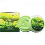 Фото Deoproce Natural Skin Greentea Nourishing Cream - Крем для лица и тела с экстрактом зеленого чая, 100 г