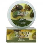 Фото Deoproce Natural Skin Olive Nourishing Cream - Крем для лица и тела питательный на основе масла оливы, 100 г