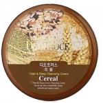 Фото Deoproce Premium Clean And Deep Cereal Cleansing Cream - Крем для лица очищающий зерновой, 300 гр