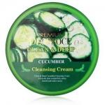 Фото Deoproce Premium Clean And Deep Cucumber Cleansing Cream - Крем для лица очищающий с экстрактом огурца, 300 гр