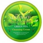 Фото Deoproce Premium Clean And Deep Green Tea Cleansing Cream - Крем для лица очищающий с экстрактом зеленого чая, 300 гр
