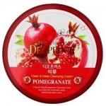 Фото Deoproce Premium Clean And Deep Pomegranate Cleansing Cream - Крем для лица очищающий с экстрактом граната, 300 гр
