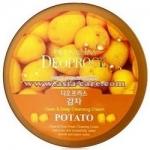 Фото Deoproce Premium Clean And Deep Potato Cleansing Cream - Крем для лица очищающий с экстрактом картофеля, 300 гр