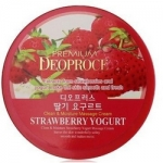 Фото Deoproce Premium Clean And Deep Strawberry Yogurt Cleansing Cream - Крем очищающий с экстрактом клубники, 300 гр