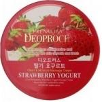 Фото Deoproce Premium Clean Moisture Strawberry Yogurt Massage Cream - Крем массажный с экстрактом клубники, 300 г