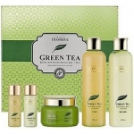 Фото Deoproce Premium Green Tea Total Solution 3 Set - Набор для лица уходовы, 260 мл*2, 100 мл, 30 мл*2