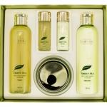 Фото Deoproce Premium Green Tea Total Solution 5 Set - Набор для лица уходовый, 260 мл*2 + 100 мл + 40 мл*2 + 30 мл*2