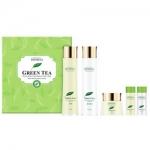 Фото Deoproce Premium Greentea Total Solution 3 Set - Набор для лица уходовый, 2*30 мл, 2*150 мл, 50 мл