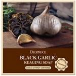 Фото Deoproce Soap Black Garic - Мыло с экстрактом черного чеснока, 100 г