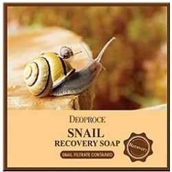 Фото Deoproce Soap Snail - Мыло с улиточным муцином, 100 г