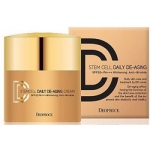 Фото Deoproce Stem Cell Daily De-Aging Cream - Крем ДД маскирующий тон 21, 40 гр