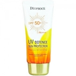 Фото Deoproce Uv Defence Sun Protector Spf50 - Крем солнцезащитный для лица и тела, 70 гр