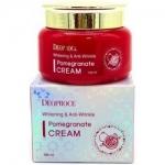 Фото Deoproce Whitening & Anti-Wrinkle Pomegranate Cream - Крем для глаз антивозрастной, 100 мл