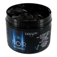 Dikson Noir Gel Per Capelli - Моделирующий гель, возвращает седым волосам цвет, 500 мл  - Купить