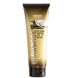 Фото Dikson Nuance Maschera Raviva Color for Brown and Dark Blond Hair - Оттеночная Маска для брюнеток и русых волос