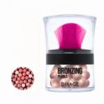 Фото Divage Bronzing Pearls - Пудра-бронзатор в шариках, тон 02