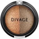 Фото Divage Colour Sphere Eye Shadow - Тени для век запеченные, двухцветные, тон 29, бронзовый, 3 гр