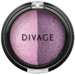 Фото Divage Colour Sphere Eye Shadow - Тени для век запеченные, двухцветные, тон 30, сиреневый, 3 гр
