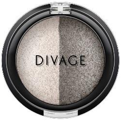 Фото Divage Colour Sphere Eye Shadow - Тени для век запеченные, двухцветные, тон 32, коричневый, 3 гр
