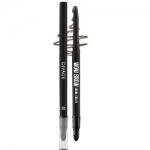 Фото Divage Eyebrow Pencil Wow Brow - Карандаш для бровей, тон № 02, темно-коричневый, 7 гр