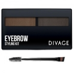 Фото Divage Eyebrow Styling - Набор для моделирования формы бровей № 02, светло-коричневый