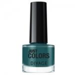 Фото Divage Just Colors - Лак для ногтей, тон 29, серо-зеленый, 6 мл