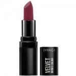 Фото Divage Lipstick Velvet - Помада губная, тон 12, бордовый, 3,2 гр