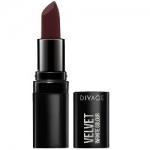 Фото Divage Lipstick Velvet - Помада губная, тон 13, темно-бордовый, 3,2 гр