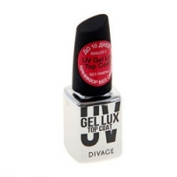 Divage Nail Care Uv Gel Lux - Топ-покрытие