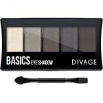 Фото Divage Palettes Eye Shadow Basics - Палетка теней для глаз, 7 г