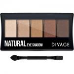 Фото Divage Palettes Eye Shadow Natural - Палетка теней для глаз, 7 г