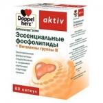 Фото Doppelherz Aktiv - Эссенциальные фосфолипиды и Витамины группы В, в капсулах, 60 шт