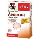 Фото Doppelherz Aktiv - Лецитин-Комплекс в капсулах, 30 шт
