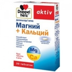 Фото Doppelherz Aktiv - Магний и Калий депо в таблетках, 30 шт