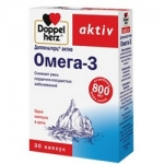 Фото Doppelherz Aktiv - Омега-3 в капсулах, 30 шт