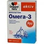 Фото Doppelherz Aktiv - Омега-3 в капсулах, 80 шт