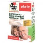 Фото Doppelherz Aktiv - Витаминно-минеральный комплекс 50 плюс 1765 мг в таблетках, 30 шт