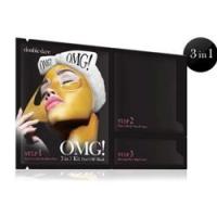 Double Dare OMG! 3IN1 Kit Peel Off Mask - Маска трехкомпонентная для обновления кожи лица