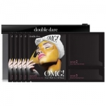 Фото Double Dare OMG! 3in1 Kit Peel Off Mask - Трехкомпонентный комплекс масок Жидкое золото, упаковка 5 штук