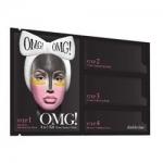 Double Dare OMG! 4IN1 Kit Zone System Mask - Маска четырехкомпонентная для ухода за кожей лица