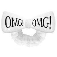 Double Dare OMG! Hair Band White - Повязка косметическая для волос, белая