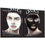 Фото Double Dare OMG! Man In Black Facial Mask Kit - Двухкомпонентный комплекс мужских масок Детокс