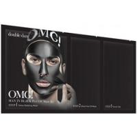 Купить Double Dare OMG! Man In Black Peel Off Mask Kit - Трехкомпонентный комплекс мужских масок Смягчением и восстановление