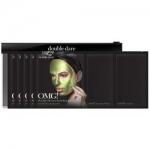 Фото Double Dare OMG! Platinum Green Facial Mask Kit - Трехкомпонентный комплекс масок Увлажнение и себоконтроль, 5 штук