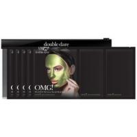 Купить Double Dare OMG! Platinum Green Facial Mask Kit - Трехкомпонентный комплекс масок Увлажнение и себоконтроль, 5 штук