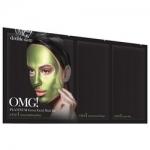 Фото Double Dare OMG! Platinum Green Facial Mask Kit - Трехкомпонентный комплекс масок Увлажнение и себоконтроль